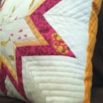 Paper Pieced Lone Starburst Pillow-part 2