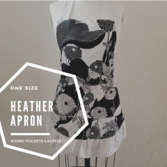 heather ruffle apron pattern