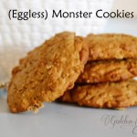 Monster Oat Cookies (eggless) Recipe