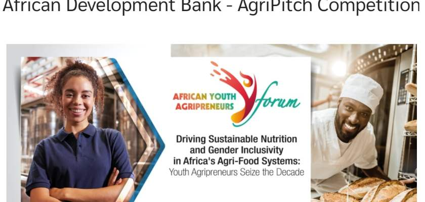 African Development Bank AgriPitch Competition 2020 for African Entrepreneurs