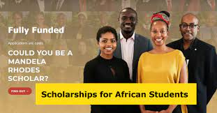 Mandela Rhodes Scholarships 2022 for African Students to Study at South African Universities