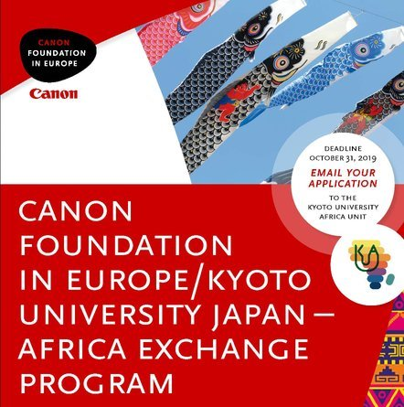 Canon Foundation/Kyoto University Japan-Africa Exchange Program 2022 for African Researchers