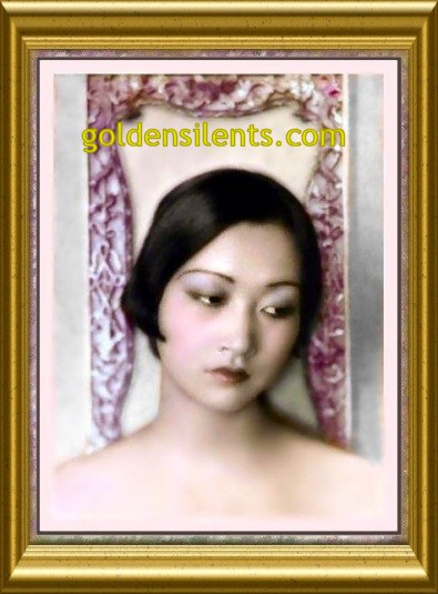 Anna May Wong Portrait Shot - goldensilents.com