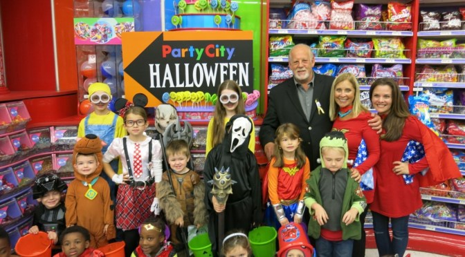 Party City Donates Halloween Costumes To Candlelighters NYC ...