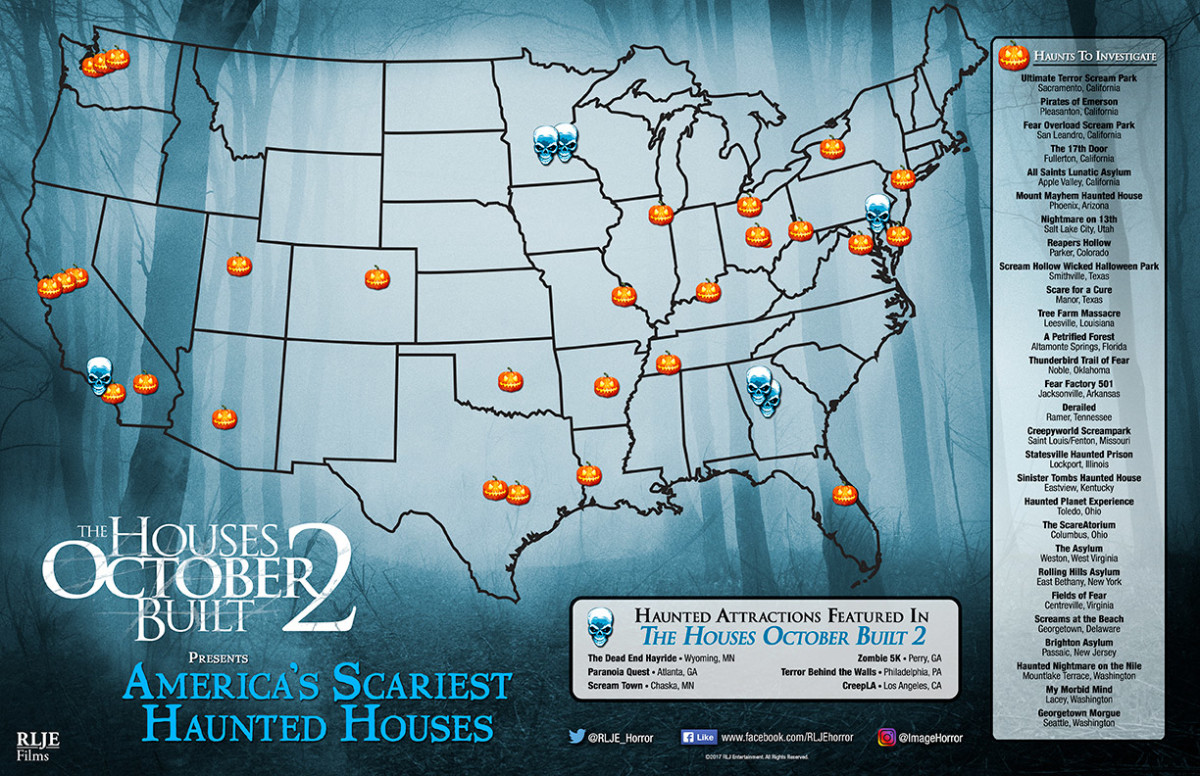 visit americas scariest haunted houses with the houses october built 2 golden state haunts