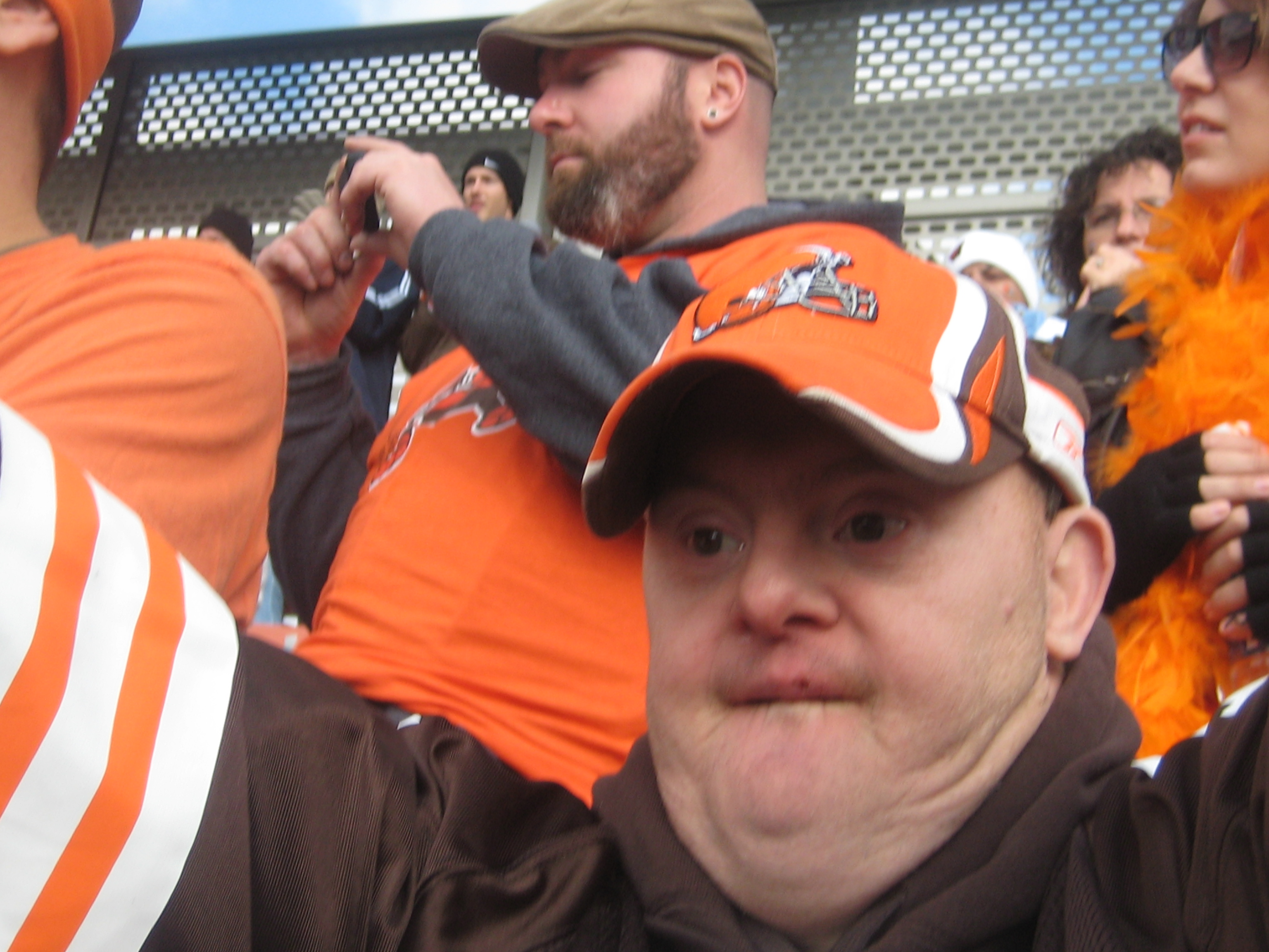 Richard loves the Browns