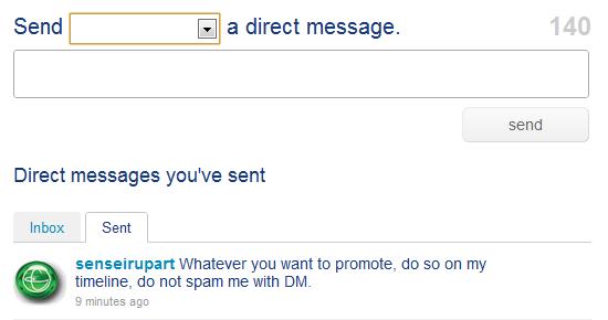 DM Spam