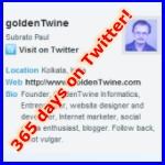 GoldenTwine on Twitter