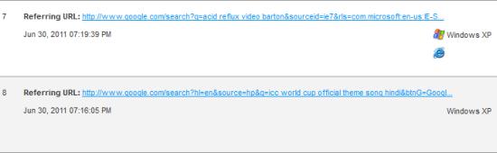Referring URL