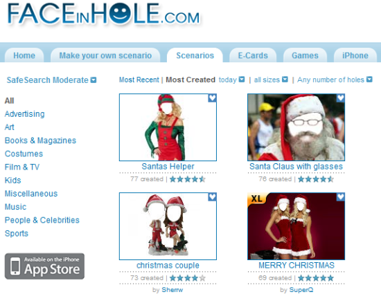 Santa Claus with Glasses