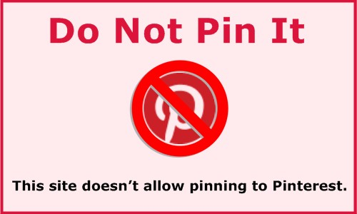 Do Not Pin It