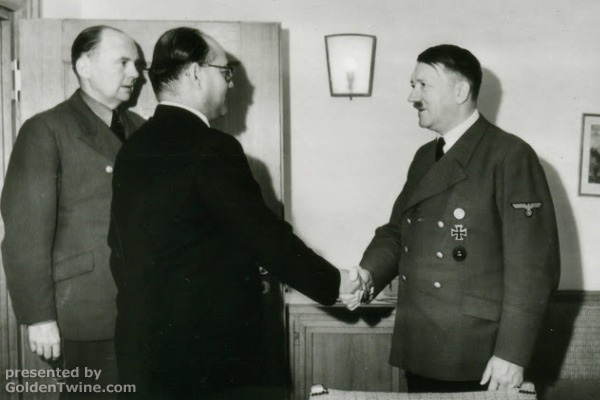 Subhas Bose with Hitler