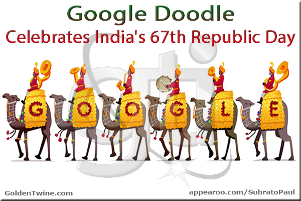 Google Doodle - Republic Day of India