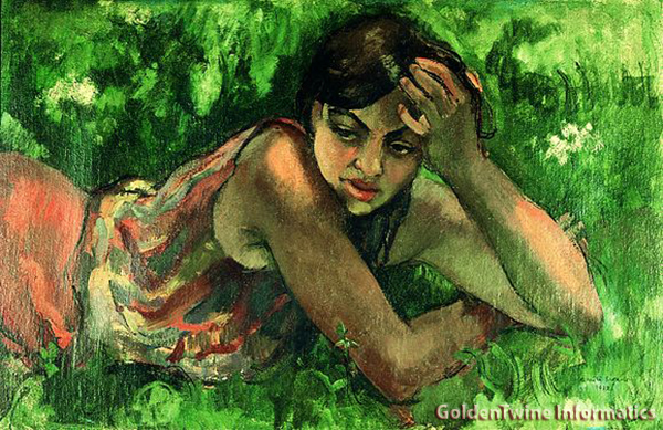 Hungarian Gypsy girl