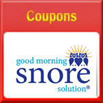 No Shipping Fees Coupon for Good Morning Snore Solution