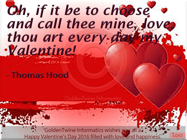 Picture Love Quote - Thomas Hood