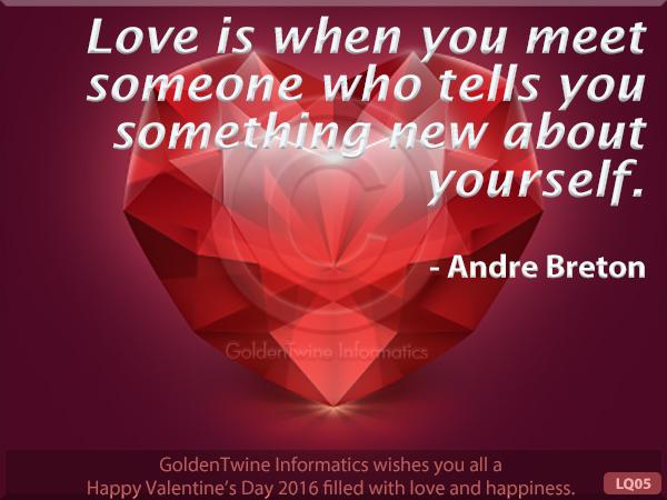 Picture Love Quote - Andre Breton