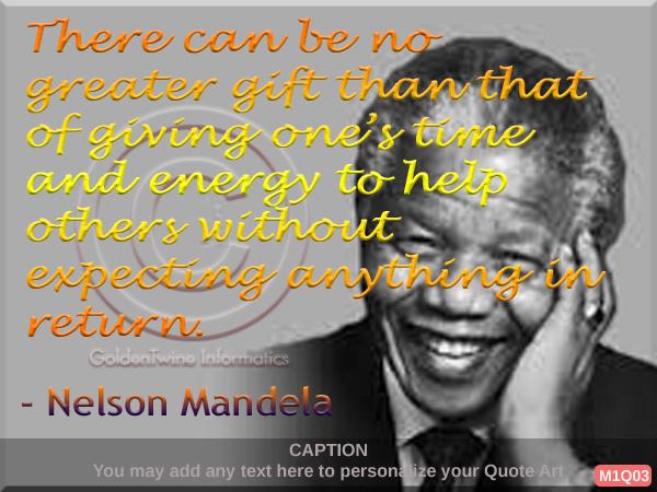 Nelson Mandela Quote 3