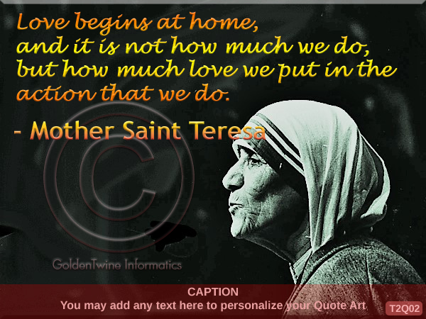 Mother Teresa Quote 2