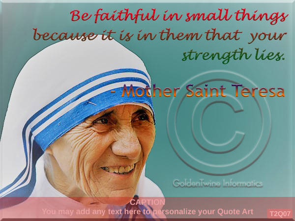 Mother Teresa Quote 7
