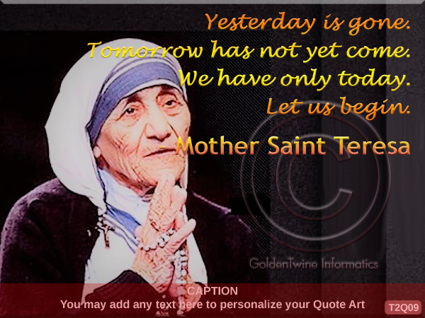 Mother Teresa Quote 9
