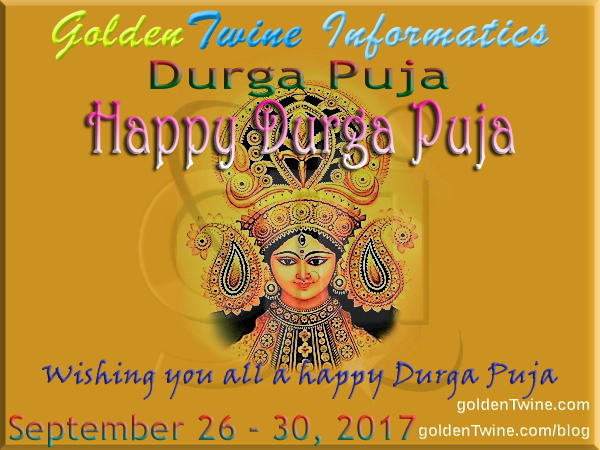 Happy Durga Puja 2017 - Maha Saptami