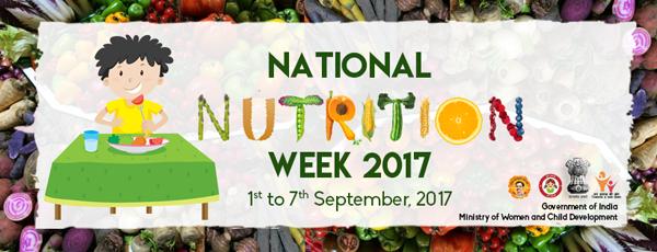 National Nutrition Week 2017