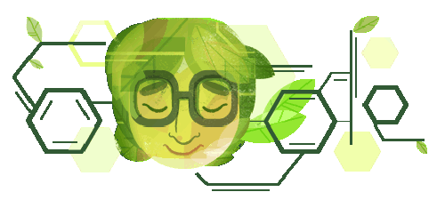 Asima Chatterjee's 100th Birthday Google Doodle