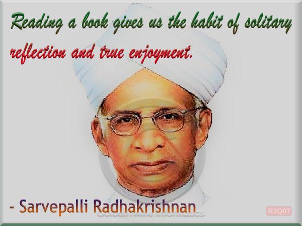 Sarvepalli Radhakrishnan Quote 7