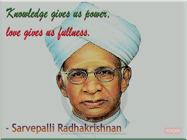 Sarvepalli Radhakrishnan Quote 8