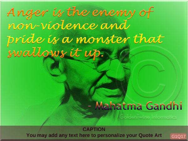 Mahatma Gandhi Quote G1Q17