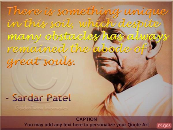 Sardar Patel Quote P1Q05