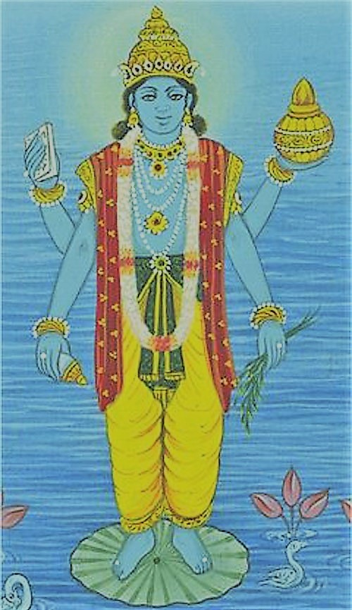 Dhanwantri, the physician of Gods