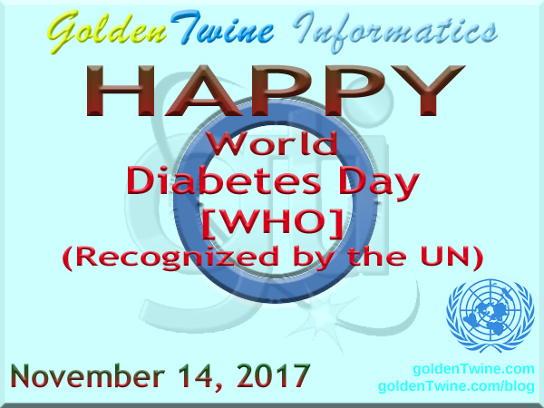 World Diabetes Day (WHO) - Recognized by the UN