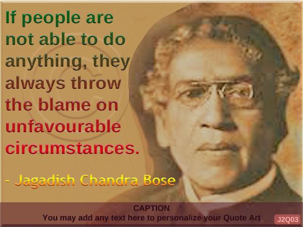 Jagadish Chandra Bose Quote J2Q03
