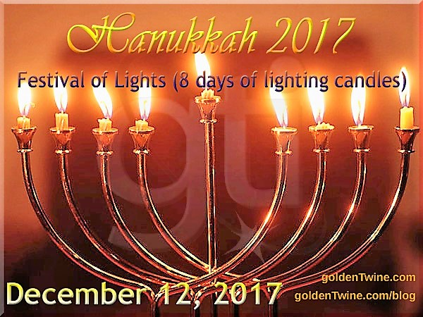 Jews Festival of Hanukkah 2017