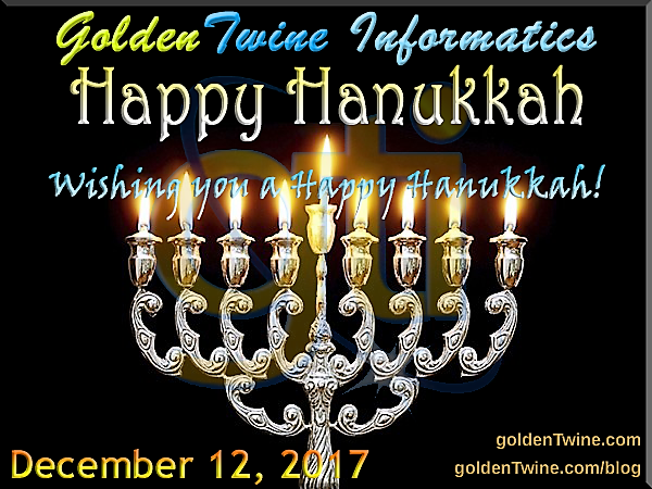 Happy Hanukkah 2017