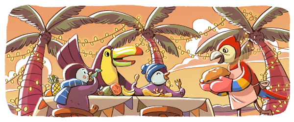 New Year's Eve 2017 Google Doodle - Image 3