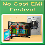 No Cost EMI Festival at Amazon India