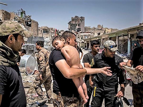 Memorable Photo - July 12, 2017. Mosul, Iraq.