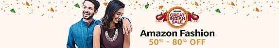 Amazon Great Indian Sale January 2018 - Fashion