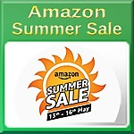 Amazon Summer Sale May 13 to 16 2018