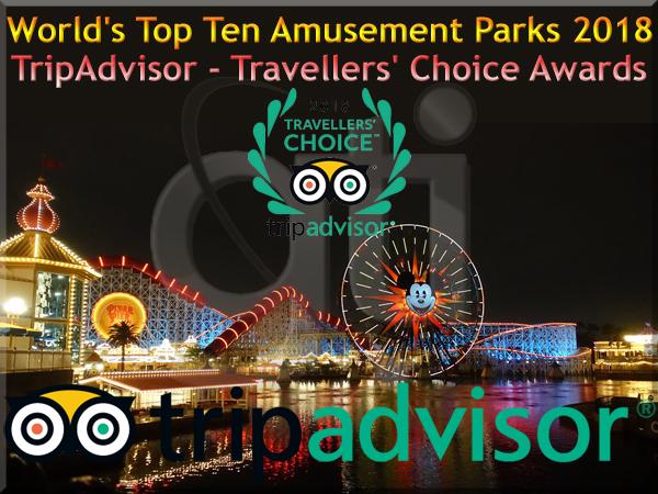 World Top Ten Amusement Parks 2018