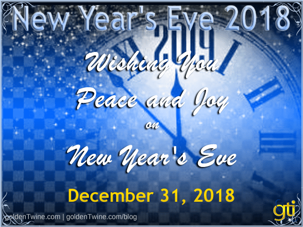 Happy New Year's Eve 2018
