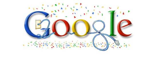 New Year's Day 2008 Google Doodle
