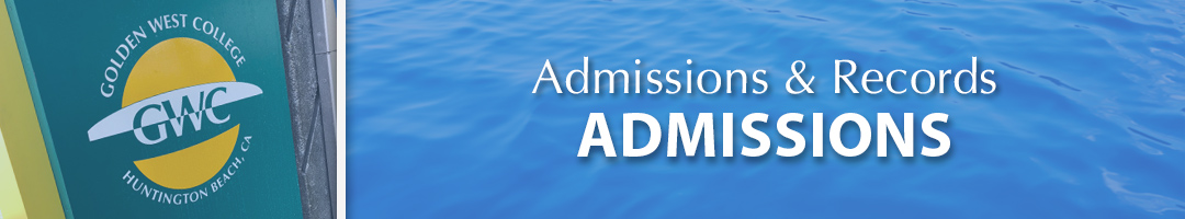 Admissions & Records - Admissions