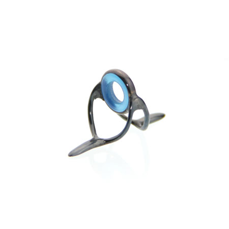 Standard stripping guide blue agate blued frame