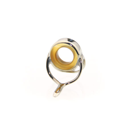 Classic Wide High Frame Natural ROY Yellow Agate Stripping guide