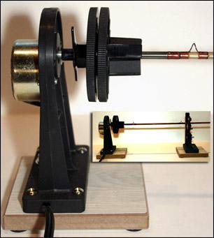 Rod drying motor