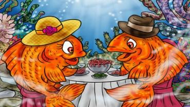 what do goldfish eat
